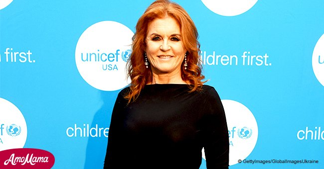 59-year-old Sarah Ferguson wows in a sexy fitted dress, strutting her stuff in a rare appearance