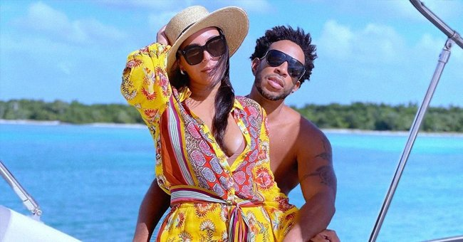 Ludacris' Wife Eudoxie Wows Fans with Her Body as She Flaunts Legs in an Orange Swimsuit