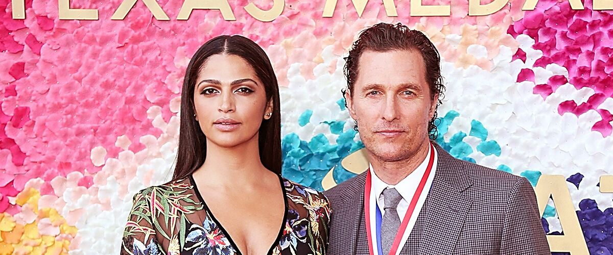 Matthew McConaughey's Wife Camila Shares a Throwback Photo with Their Adorable Kids