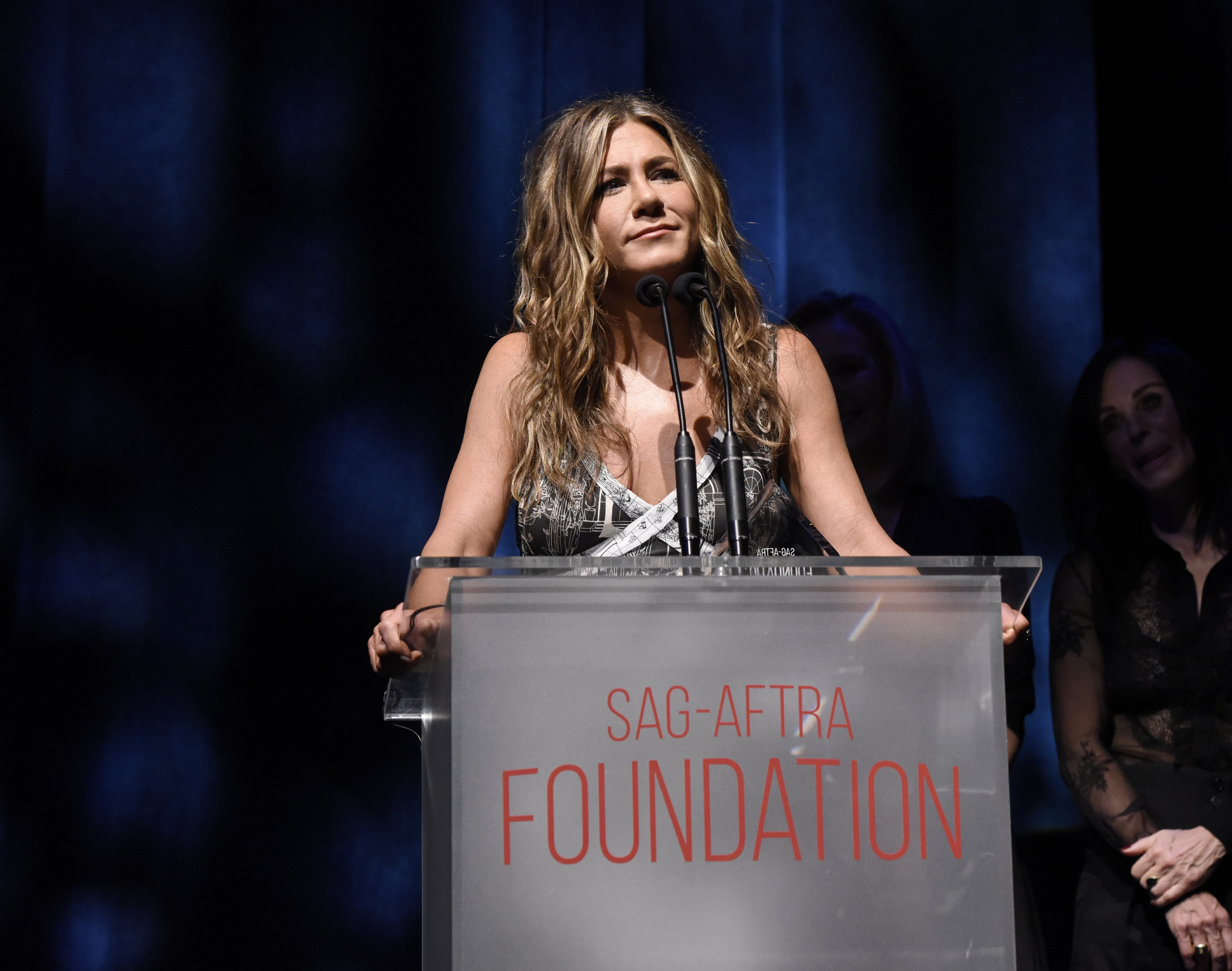 Jennifer Aniston at SAG-AFTRA Foundation's 4th Annual Patron of the Artists Awards | Source: Getty Images
