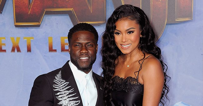 Kevin Hart's Wife Eniko Shows Growing Baby Bump during Her Yoga Session