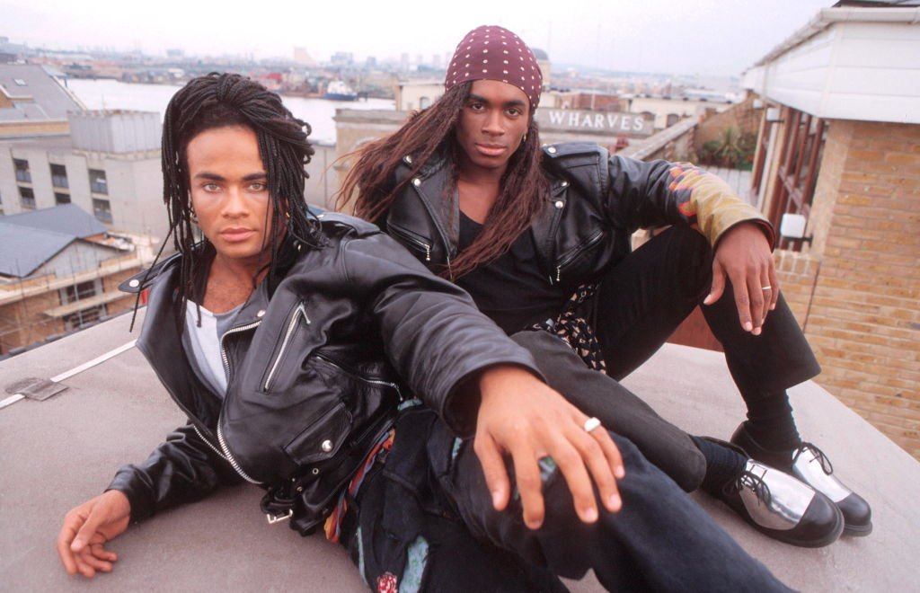 Milli Vanilli, portraits, London, 27 September 1988, L-R Rob Pilatus, Fab Morvan | Photo: GettyImages