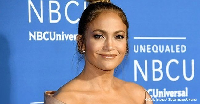 Jennifer Lopez's daughter is 10 years old and she is a copy of her famous mom