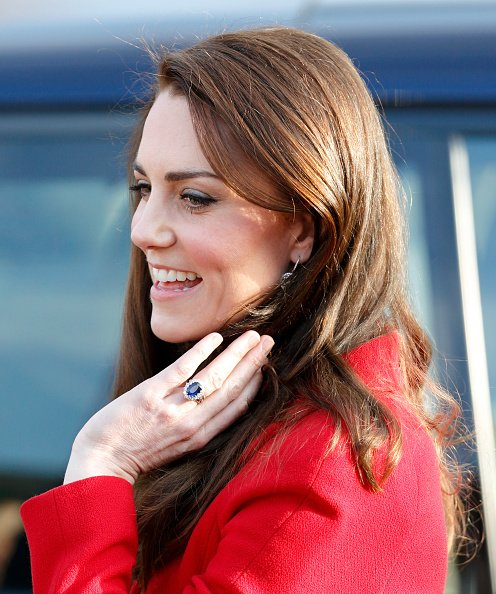 Kate Middleton à l'école primaire Mitchell Brook le 6 février 2017 à Londres, Angleterre | Photo : Getty Images