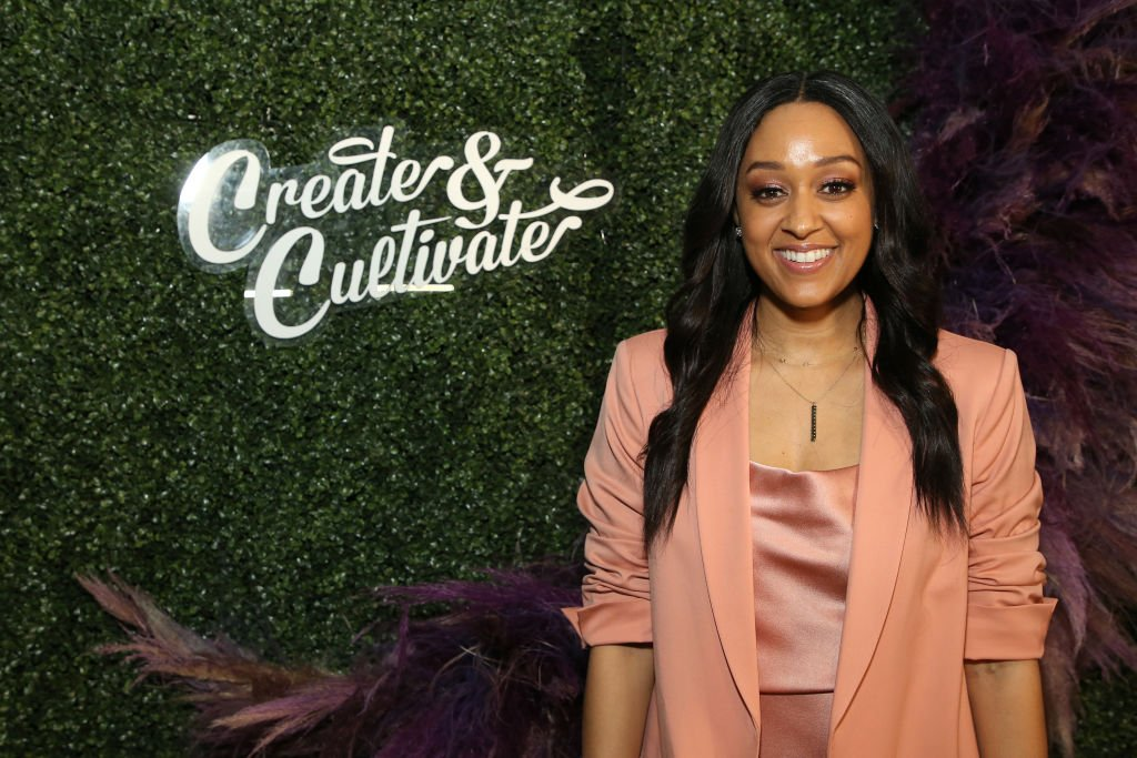 Tia Mowry attends Create & Cultivate Los Angeles, 2020  Photo: Getty Images