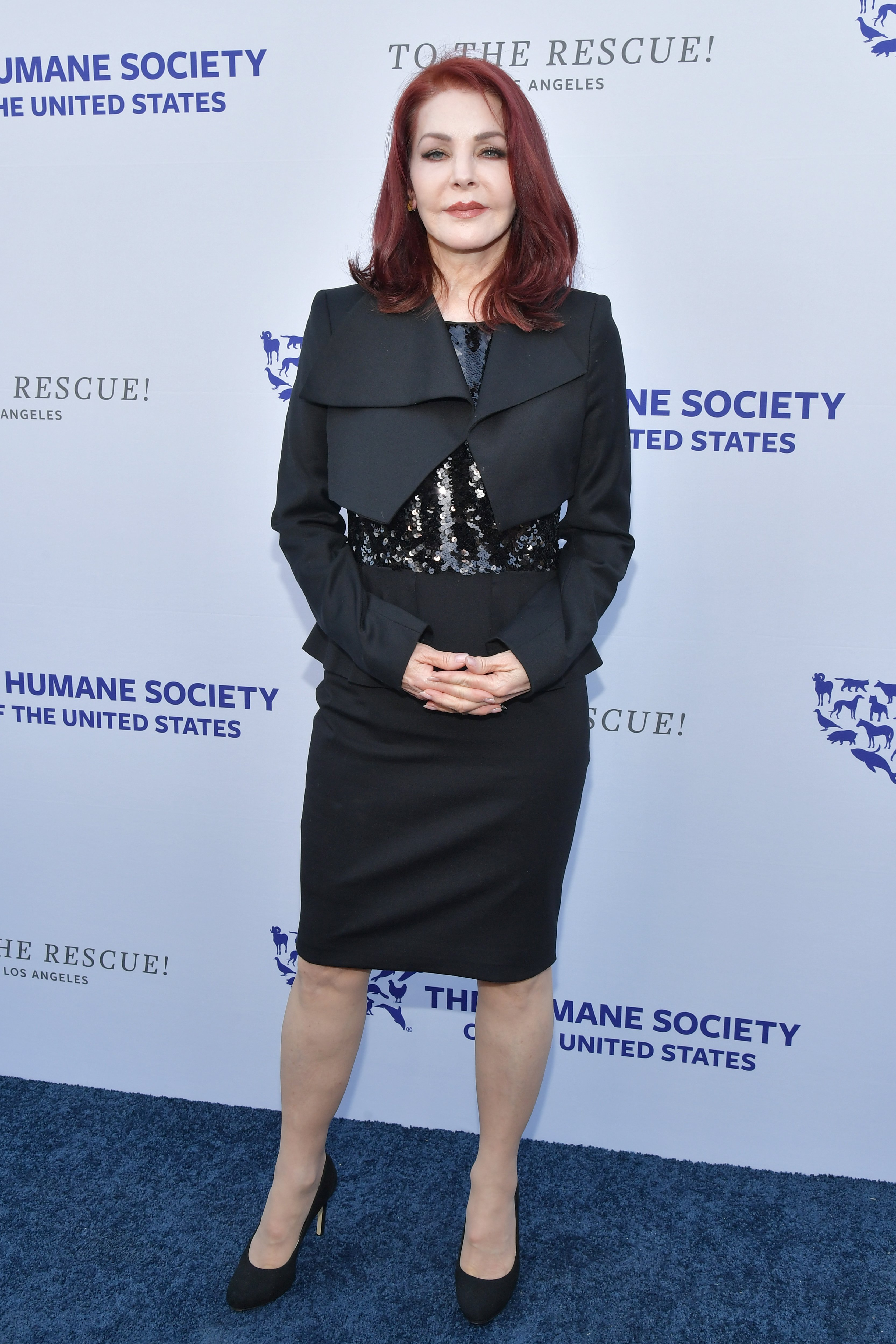 Priscilla Presley attends The Humane Society Of The United States To The Rescue! Los Angeles Gala on May 04, 2019, in Hollywood, California. | Source: Getty Images.