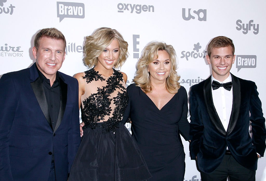 The Chrisley family attended the 2015 NBC Universal Cable Entertainment Upfront in New York. | Photo: Getty Images.