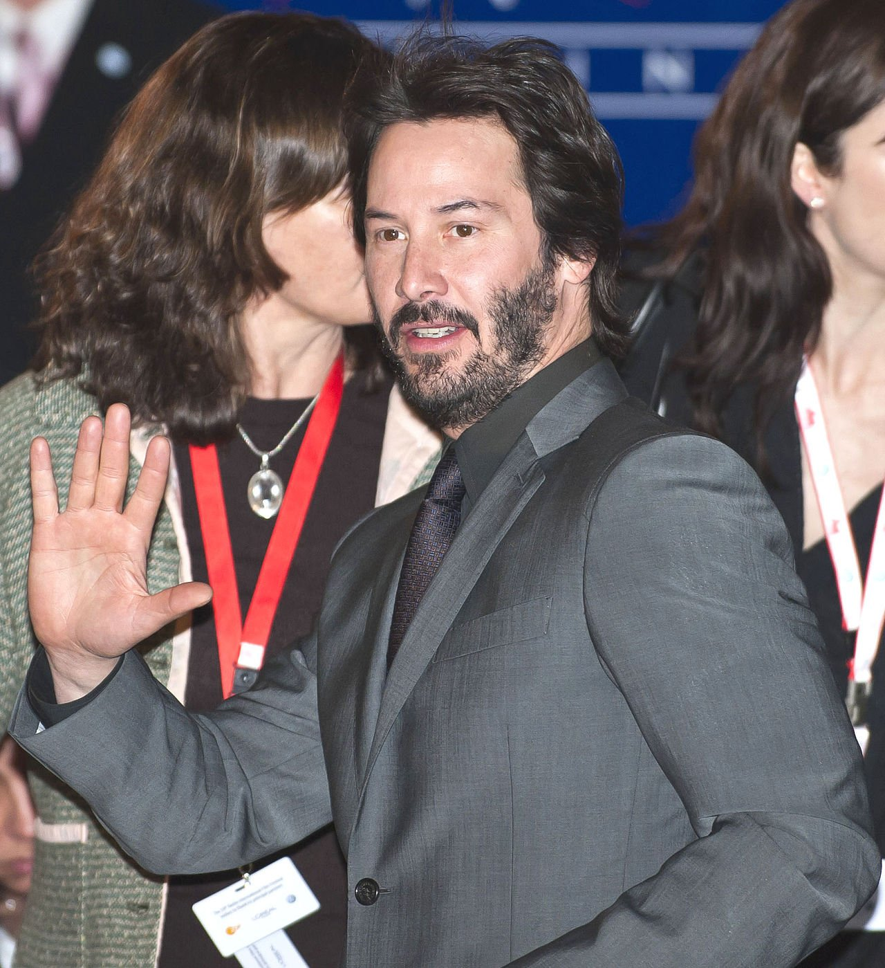 Reeves at the 2009 Berlin Film Festival. l Photo: Wikimedia Commons.