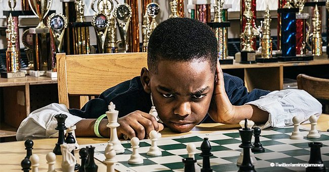 8-Year-Old Homeless Refugee Makes a Sensation After Becoming a Chess Champion in New York