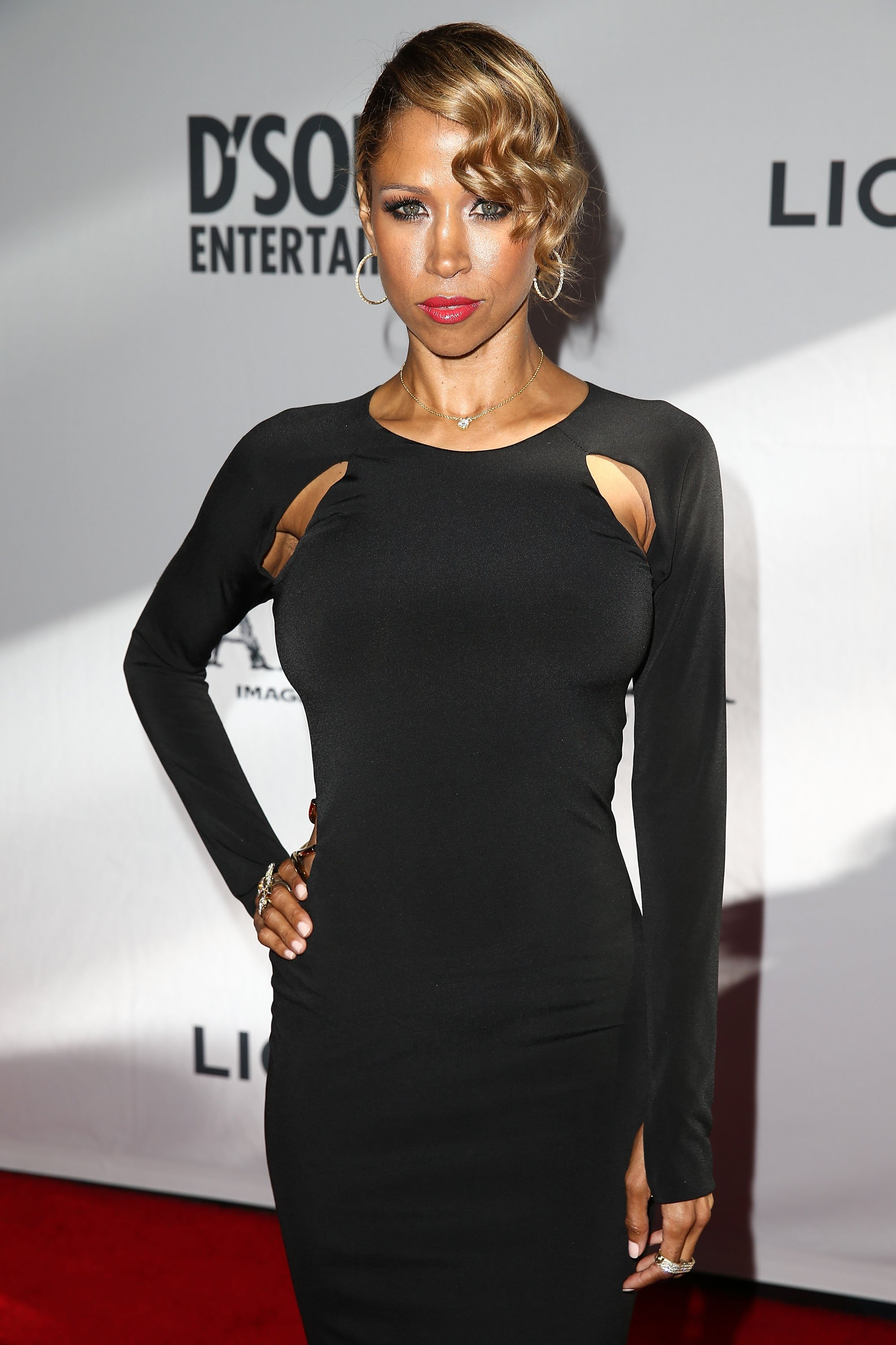 Stacey Dash attends the premiere of Lionsgate Films' 'America' at Regal Cinemas L.A. Live on June 30, 2014. | Photo: GettyImages