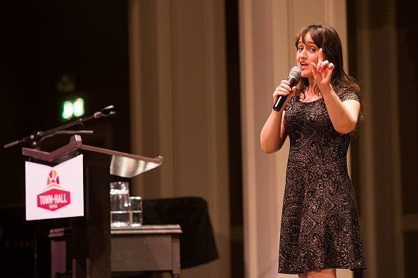 Mara Wilson speaks about her new book at Town Hall Seattle | Image: Getty Images