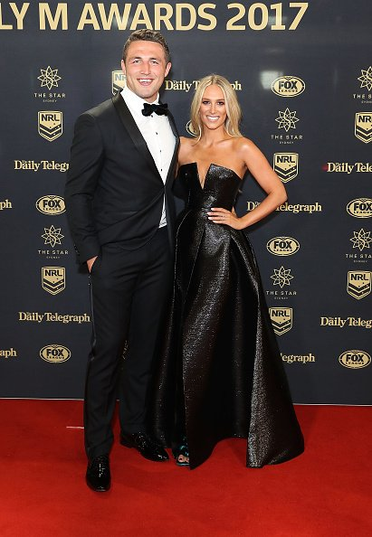Sam Burgess and Phoebe Burgess at The Star on September 27, 2017 in Sydney, Australia. | Photo: Getty Images