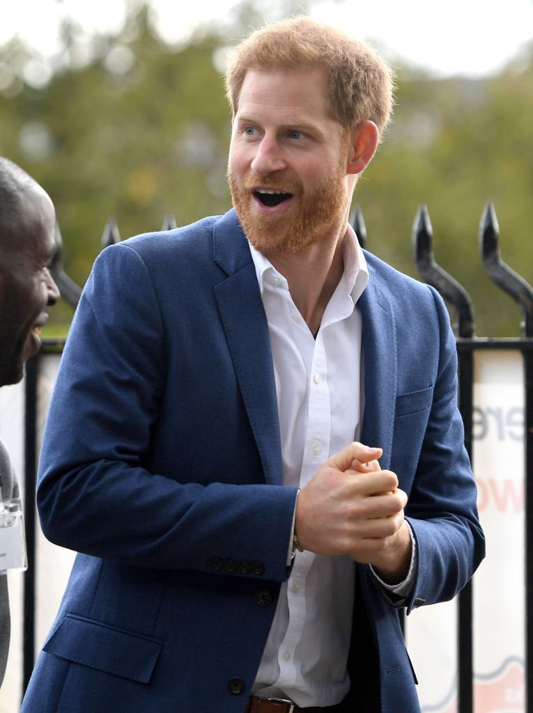 Prince Harry, Duke of Sussex arrives at the Community Recording Studio in Nottingham during his visit to mark World Mental Health Day | Photo: Getty Images
