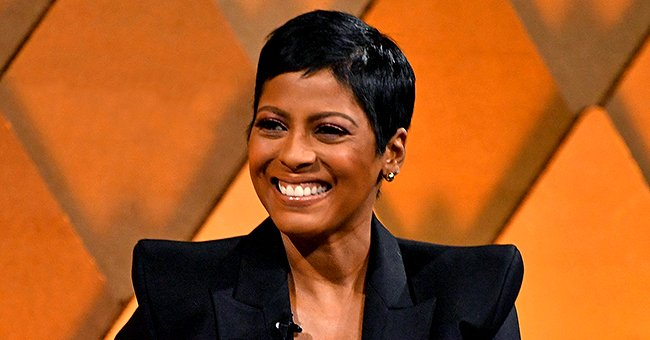 Check Out This Adorable Pic of Tamron Hall's Son Moses Riding His Toy Car