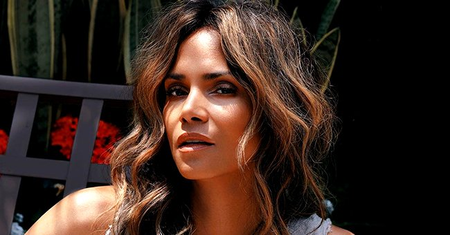 Halle Berry's White Swimsuit Leaves Little to the Imagination in Sultry Poolside Pic