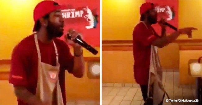 Man 'quits' job at Popeyes restaurant by rapping his resignation in jaw-dropping video