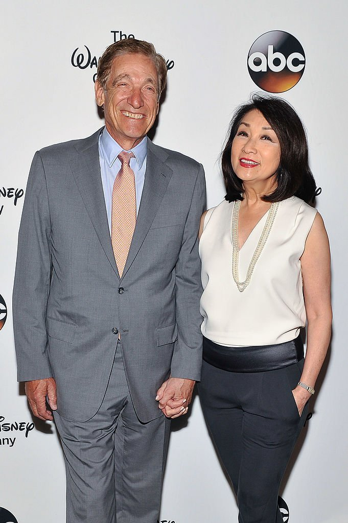 Maury Povich (L) and Connie Chung attend A Celebration of Barbara Walters Cocktail Reception Red Carpet at the Four Seasons Restaurant | Getty Images