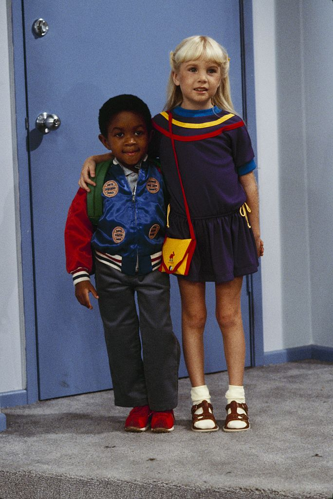 """Webster"" - ""Second Time Around"" - Airdate November 4, 1983. Emmanuel Lewis, Heather O'Rourke 