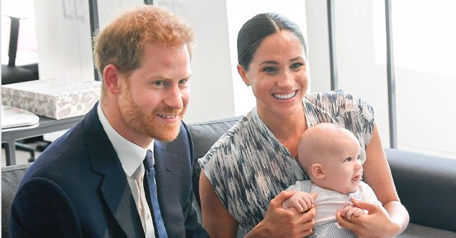 ET Online: Meghan & Harry Shared Pic of Lilibet with the Royal Family via Text Shortly after Her Birth