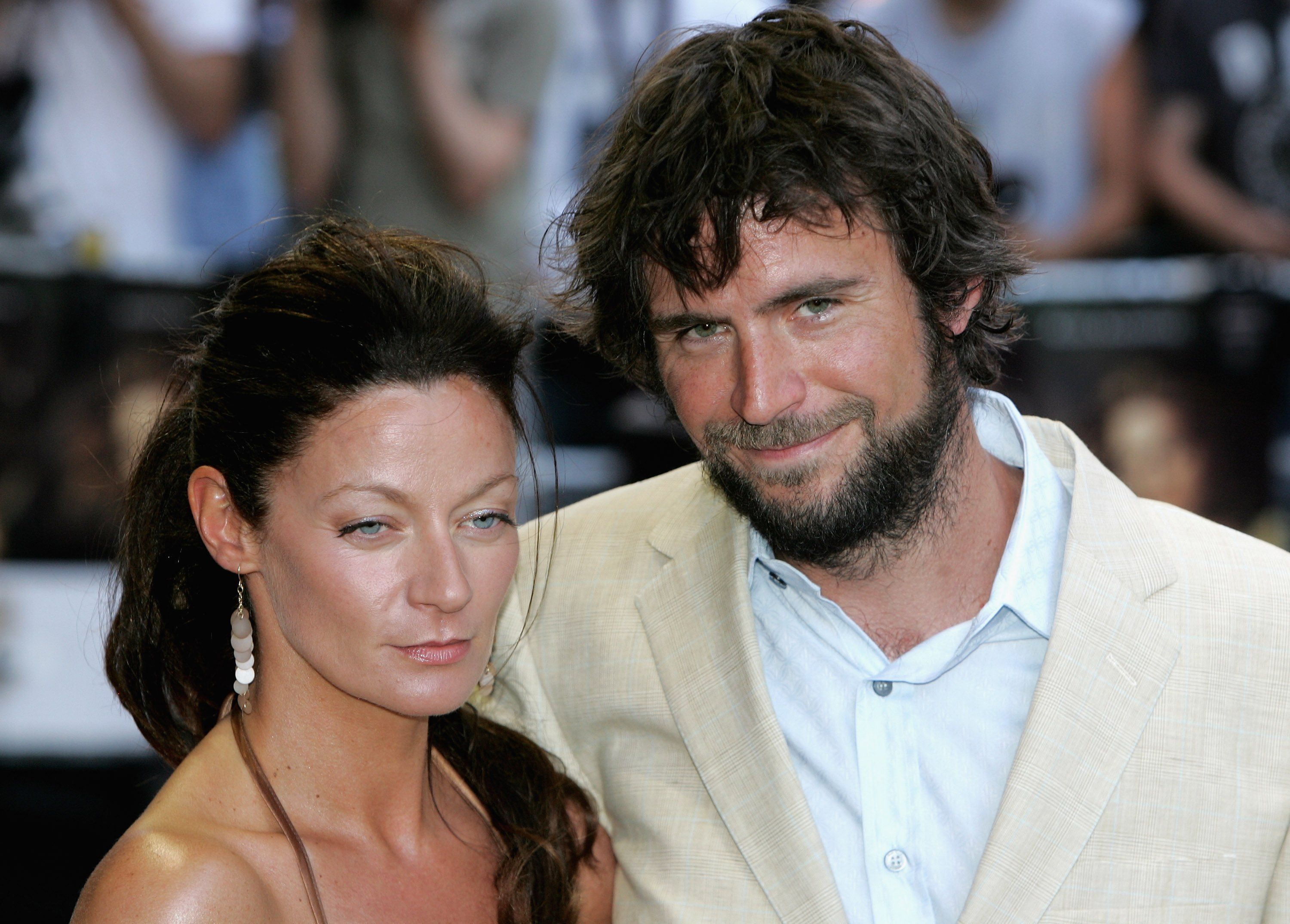 Jack Davenport and Michelle Gomez at the premiere of 'Pirates Of The Caribbean: Dead Mans Chest' in 2006 in London, England | Source: Getty Images