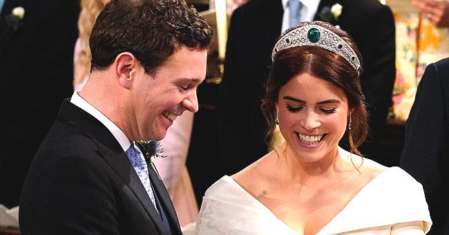La princesse Eugénie a une magnifique photo de mariage en noir et blanc exposée dans son chalet