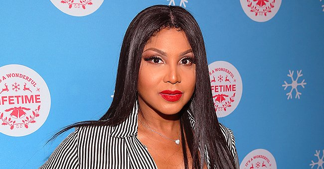 Toni Braxton's Son Diezel Strikes Pose as He Models Black Sweater in Recent Photo