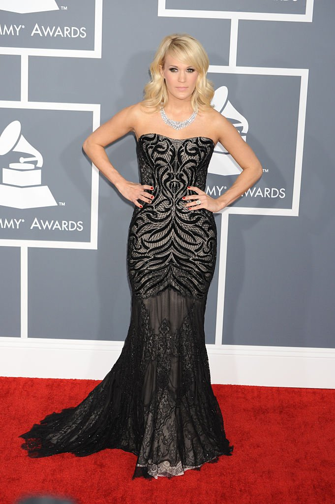 Carrie Underwood attends the Grammy Awards in Los Angeles on February 10, 2013 | Photo: Getty Images