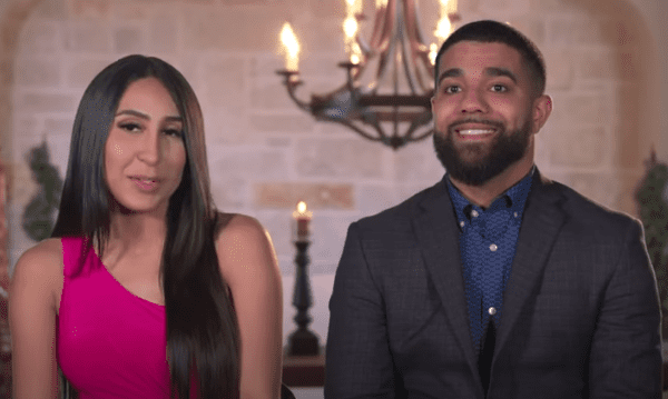 """Dani and Donovan on the second season of """"Marrying Millions."""" 