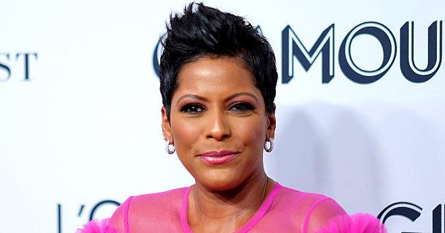 Tamron Hall Exudes Gorgeous Glow as She Poses in Pink Ruffled Dress in Photo from 2019 Glamour Women of the Year Awards