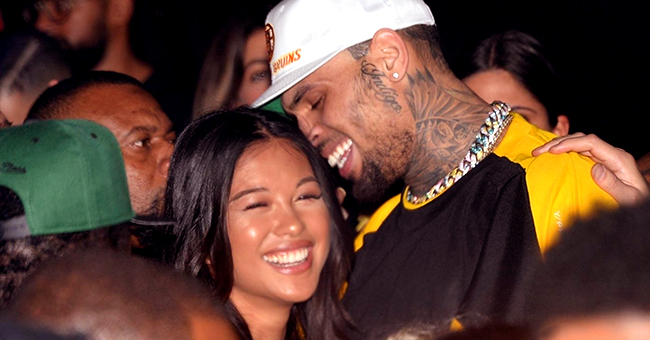 Chris Brown's Ex Ammika Harris Bares Flat Tummy in Revealing Red Outfit Amid Pregnancy Rumors