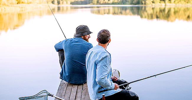 Daily Joke: Two Men Return to the Spot They Went Fishing 20 Years Ago