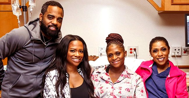 Kandi Burruss from RHOA Thanks Surrogate and 'Married to Medicine' Star Dr Jackie Walters after the Birth of Daughter Blaze
