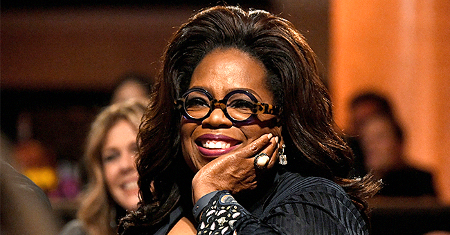 A  Look at 19-Year-Old Oprah Smiling Widely after Being Hired as TV Reporter