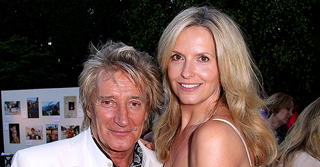 Legendary Rocker Sir Rod Stewart's Wife Penny Lancaster Admits She Thinks of Losing Her Husband