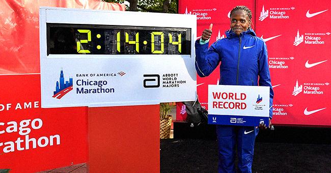 Kenya's Brigid Kosgei Becomes First Woman to Complete a Marathon in under 2 Hrs & 15 Mins
