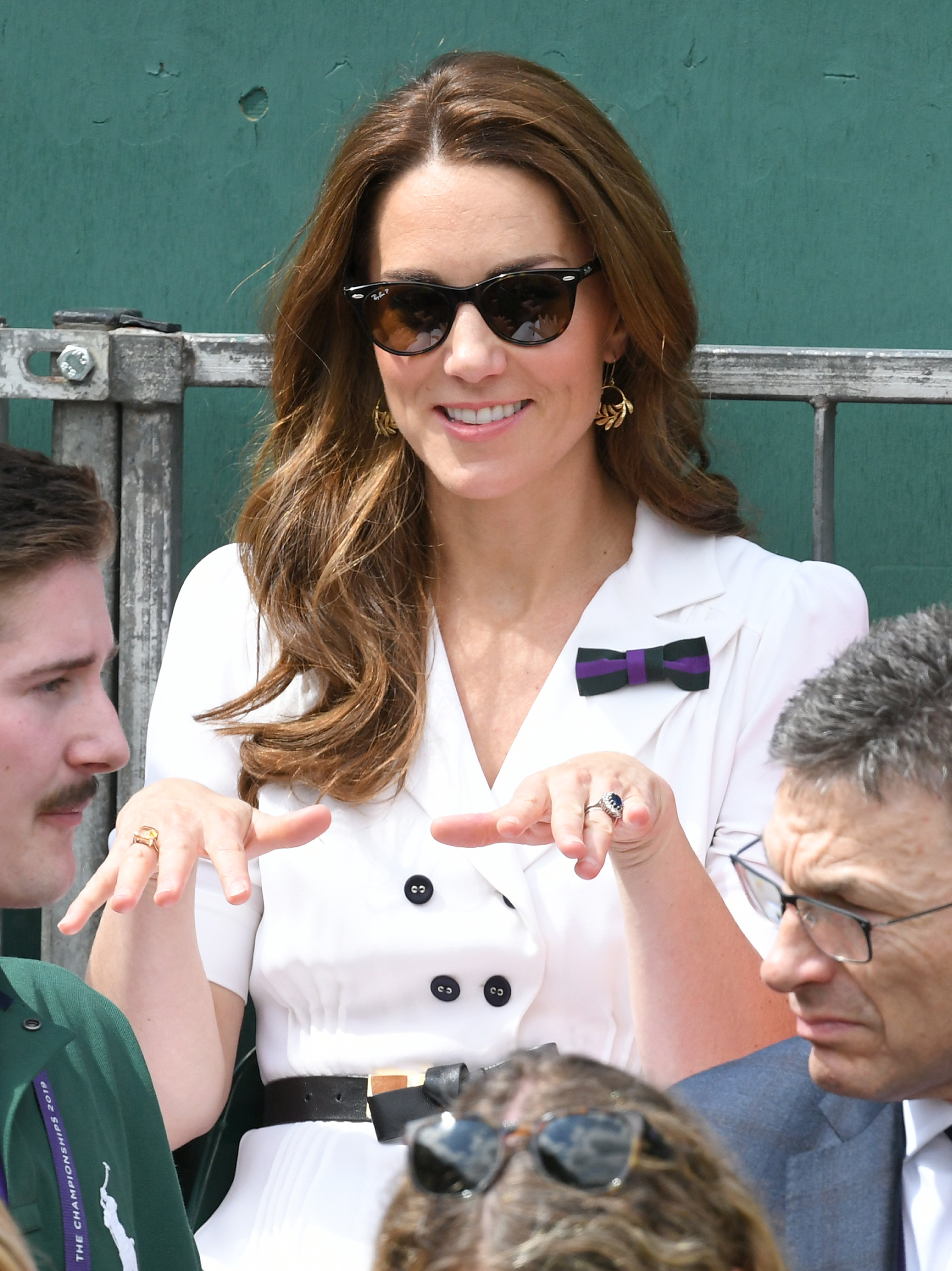 Kate Middleton attends Day 2 of Wimbledon in June 2019 | Photo: Getty images