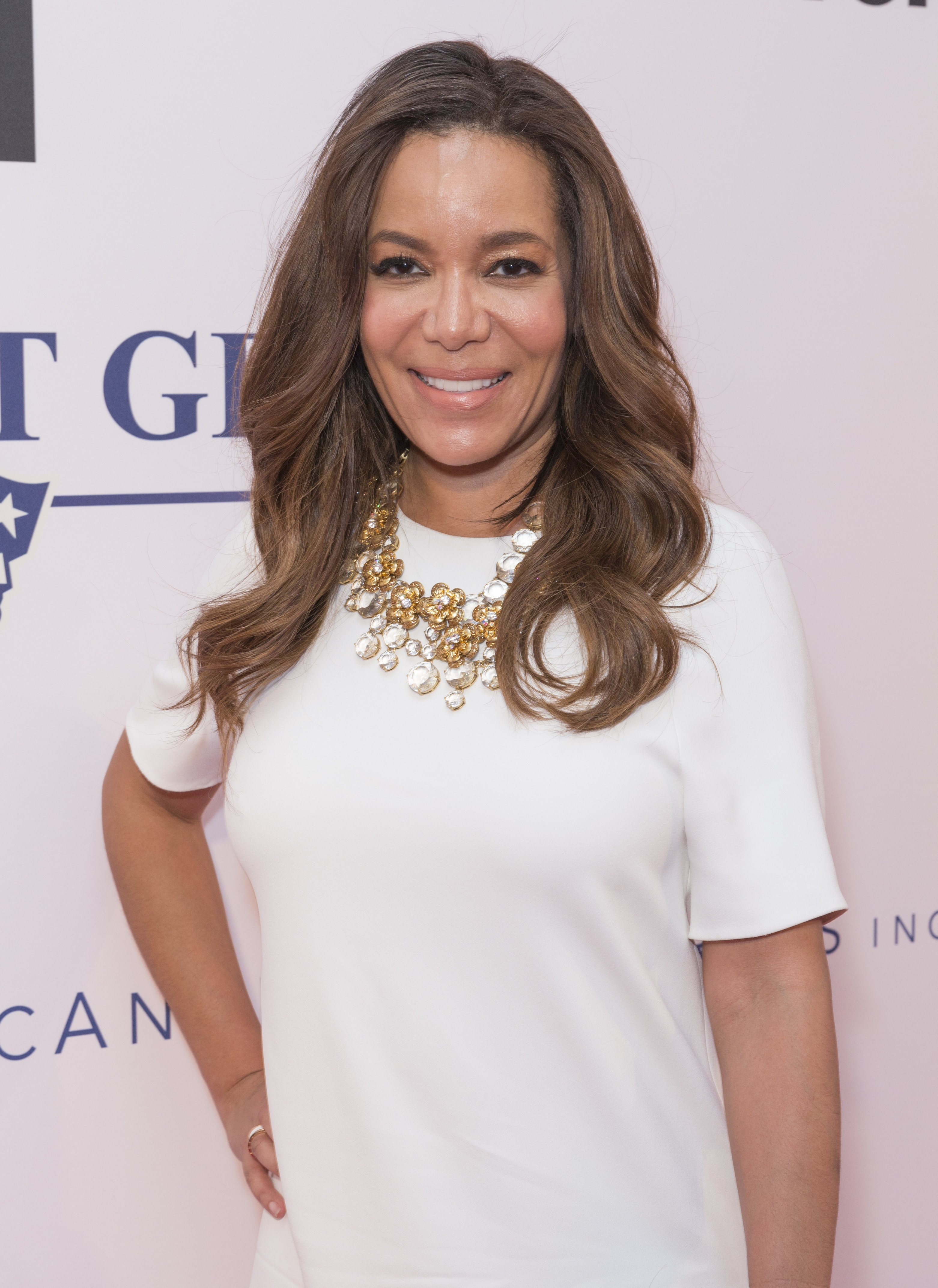 Sunny Hostin attends the Apollo Spring Gala 2017 at The Apollo Theater on June 12, 2017.   Source: Shutterstock