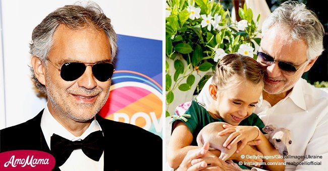 Andrea Bocelli shares extremely rare picture taken with his beautiful daughter