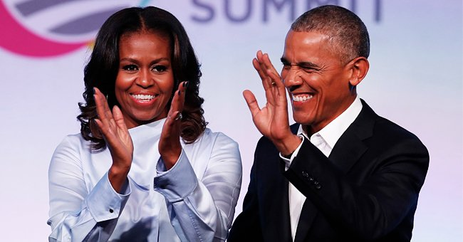 Michelle Obama Says She & Barack Barely Get a Word in with Outspoken Daughters Sasha & Malia
