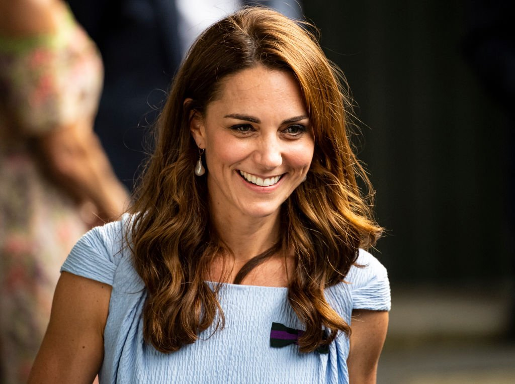 The Duchess of Cambridge leaves Centre Court after the trophy presentation after Novak Djokovic of Serbia's victory over Roger Federer of Switzerland during Day 13 of The Championships | Photo: Getty Images