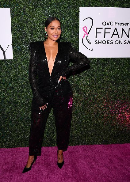 "La La Anthony at the 26th Annual QVC ""FFANY Shoes On Sale"" Gala on October 10, 2019 
