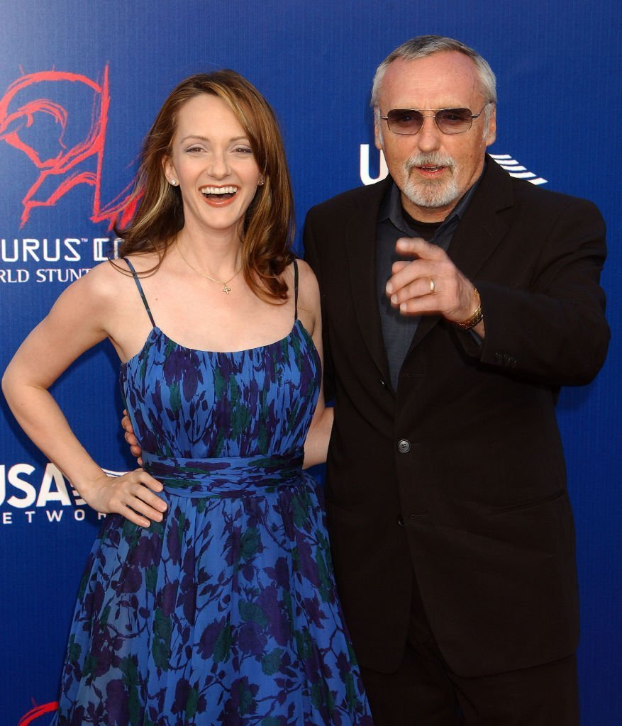 Dennis Hopper & Wife Victoria during The 3rd Annual World Stunt Awards - Arrivals at Paramount Studios. | Source: Getty Images