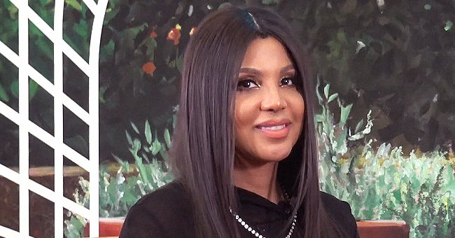 Toni Braxton's Son Flaunts Braids Wearing Blue Jacket and Jeans in a New Photo