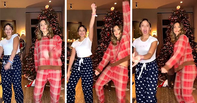 Jessica Alba Shows Her Moves Dancing with Daughter Honor by a Christmas Tree — See Cute Video