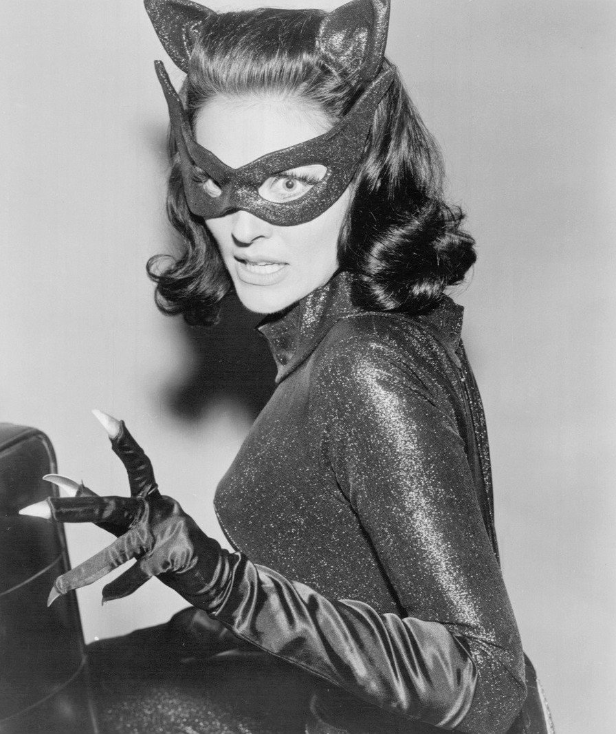 Photo of Lee Meriwether as Catwoman in Batman (1966 film)   Photo: Wikimedia Commons Images