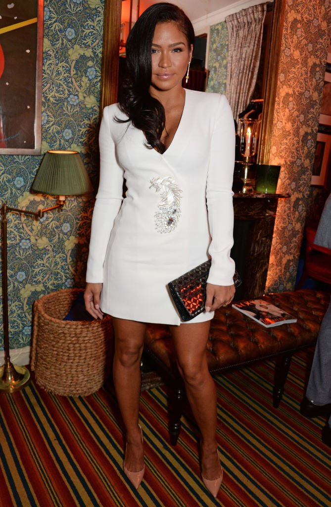 Cassie Ventura attends as Edward Enninful, David Beckham and British Vogue celebrated the 10th anniversary of Victoria Beckham | Photo: Getty Images