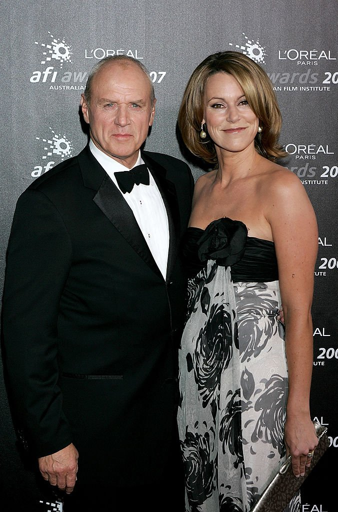Actor Alan Dale and his wife Tracey Dale arrive at the L'Oreal Paris 2007 AFI Awards Dinner at the Melbourne Exhibition Centre  | Getty Images