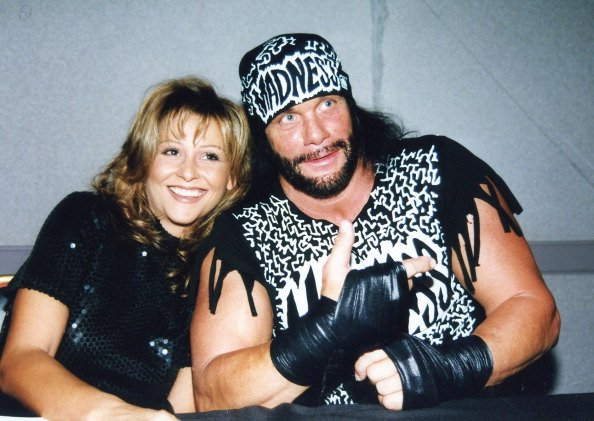 Randy Savage and Miss Elizabeth get together in Charlotte, North Carolina circa 1998. | Photo: Getty Images