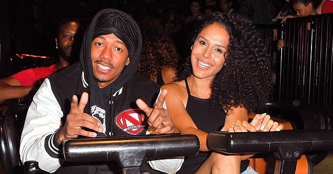 Nick Cannon's Ex Brittany Bell Flaunts Baby Bump in Latex Jumpsuit and High Heels in a New Pic