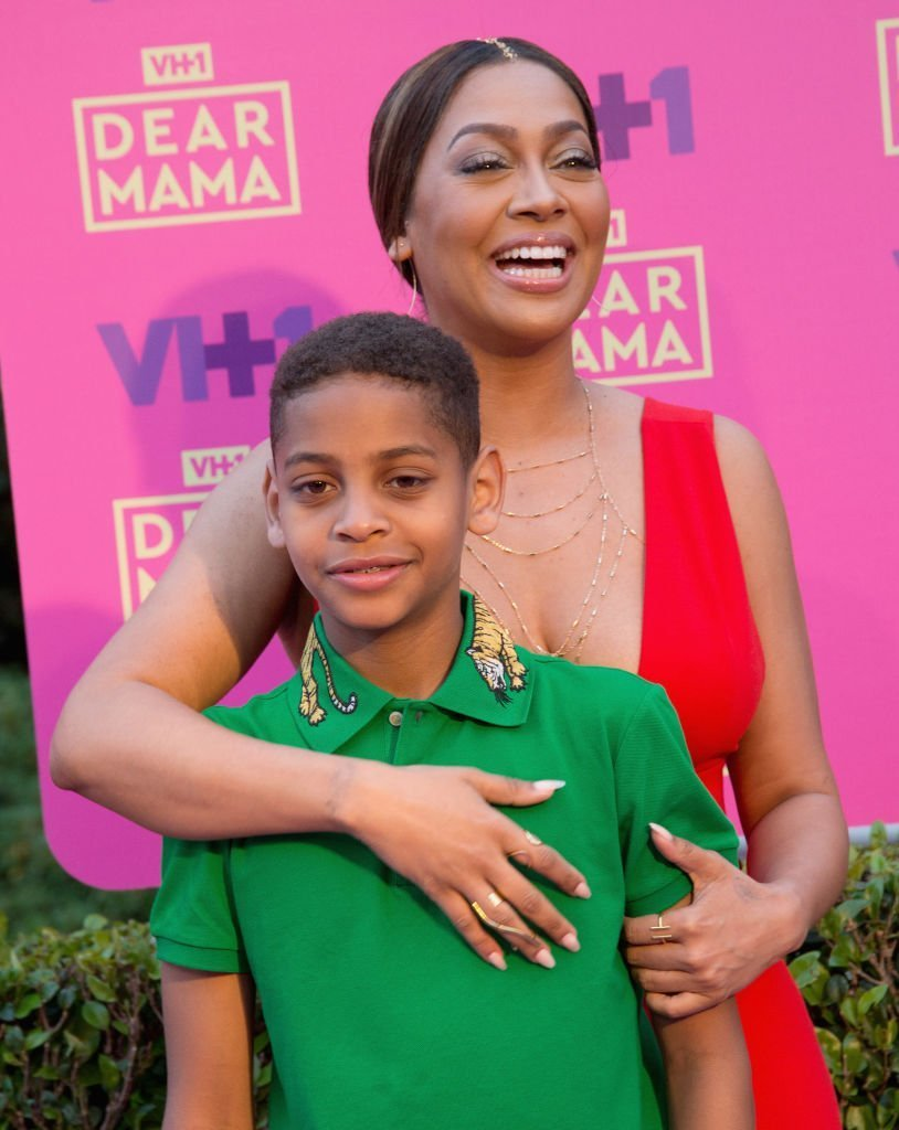 Host La La Anthony and son Kiyan Carmelo Anthony attend VH1's 2nd annual 'Dear Mama: An Event to Honor Moms' | Photo: Getty Images